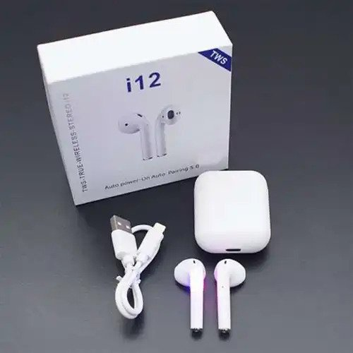I12 TWS Wireless Bluetooth Earbuds with Charging Case for Android and  iPhone – Umers Fashion Store